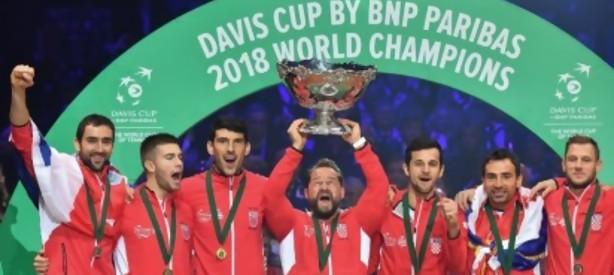 Portal 180 - Croacia ganó la Copa Davis al imponerse 3-1 a Francia