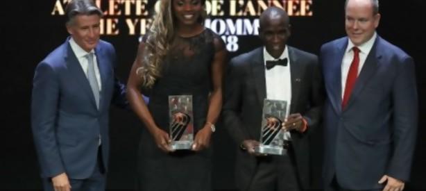Portal 180 - Caterine Ibargüen y Eliud Kipchoge, mejores atletas del año para la IAAF