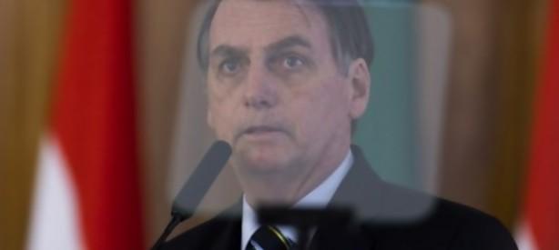 """Portal 180 - """"Siempre soñé liberar a Brasil de la izquierda"""", dice Bolsonaro en EEUU"""