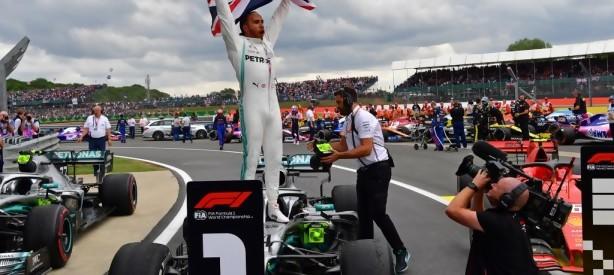 Portal 180 - Hamilton logra su sexto triunfo en GP de Gran Bretaña