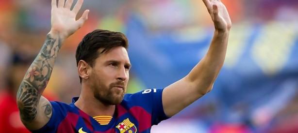 Portal 180 - Messi anuncia que los futbolistas del Barça se bajan el sueldo un 70% por el coronavirus