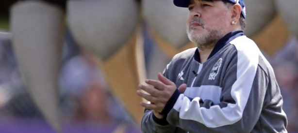 "Portal 180 - ""Me duele el alma"": Maradona debutó con derrota en Gimnasia"