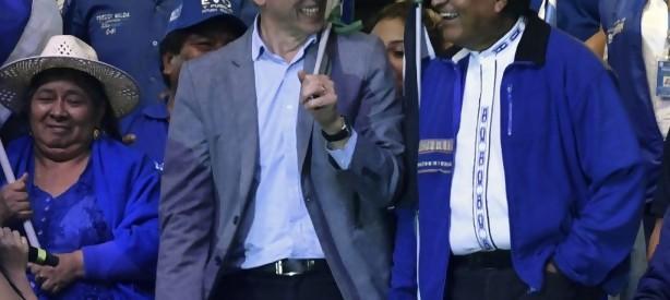 Portal 180 - Morales y Mesa juegan sus últimas cartas en cierres de campaña en Bolivia