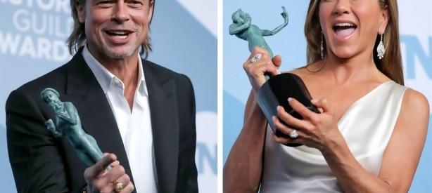 Portal 180 - Brad Pitt y Jennifer Aniston acaparan el protagonismo en los premios SAG