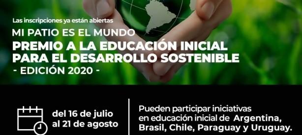 """Portal 180 - Se lanza la 3° edición del Premio """"Mi patio es el mundo"""""""