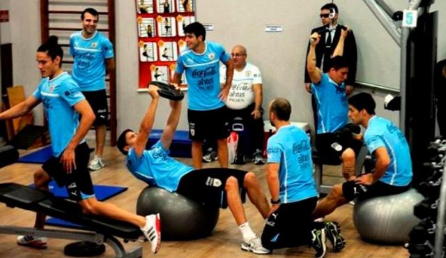 ¿Cómo son los uruguayos en el gimnasio?