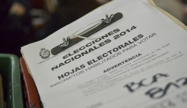 Padrón electoral tiene 260.000 nuevos inscriptos