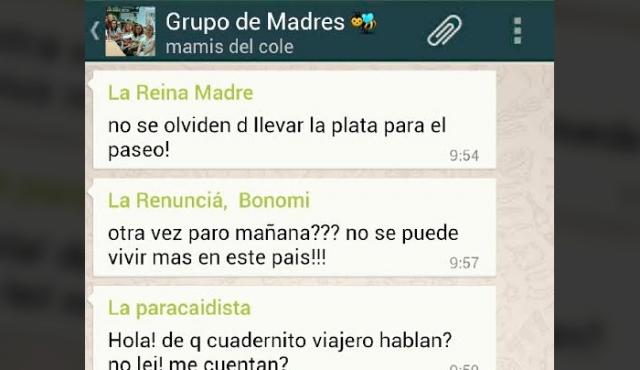 Las típicas integrantes de cualquier grupo de WhatsApp de madres uruguayas