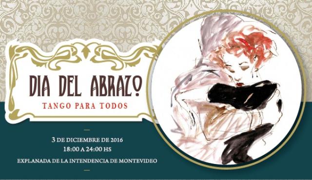 Este sábado, el Día del Abrazo celebra la paz, convivencia e inclusión a través del tango