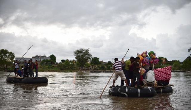 """Amnistía Internacional critica el """"muro"""" de los mexicanos con centroamericanos"""