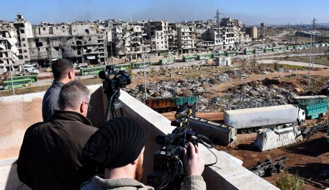 """En 2016 murieron menos periodistas pero Siria se convirtió en el """"infierno"""""""