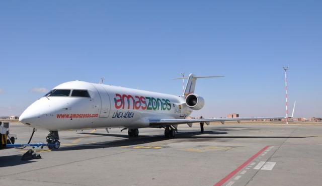 Amaszonas retoma el lunes vuelos entre Montevideo y Asunción