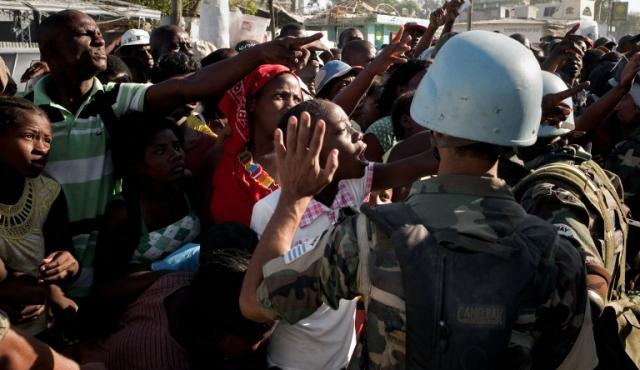 Uruguay posterga retiro de tropas en Haití hasta abril