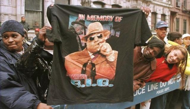 Tributos al rapero The Notorious B.I.G. a 20 años de su muerte