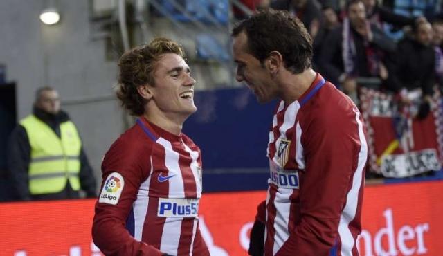 Gol de Godín en triunfo del Atlético Madrid ante Sevilla