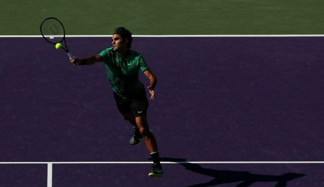 Federer eliminó a Del Potro y avanzó a octavos del Masters 1000 de Miami