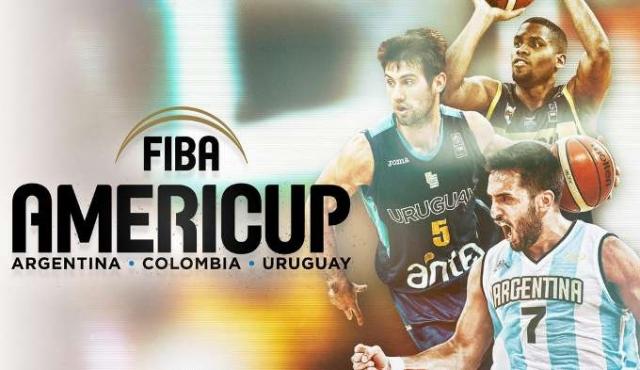 Uruguay, Colombia y Argentina acogerán la Americup 2017 de básquetbol