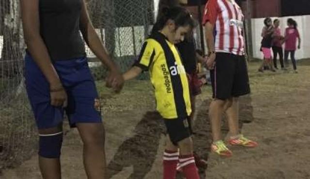 Peñarol le regala a Avril su tarde soñada