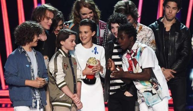 Stranger Things y La Bella y la Bestia arrasaron en los MTV Awards