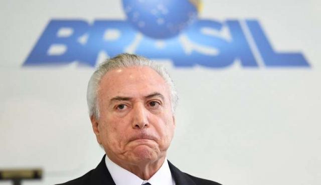 Temer habría sido grabado avalando sobornos por el silencio de Cunha