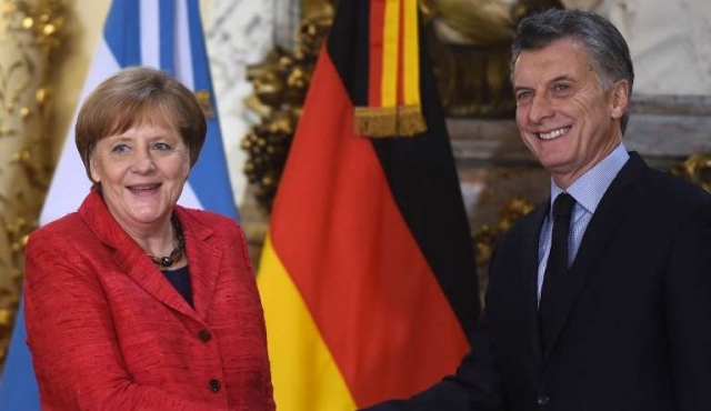 El chiste futbolero de Macri a Merkel
