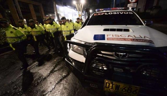 Tres muertos en atentado en shopping de Bogotá