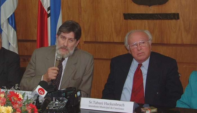 Falleció Tabaré Hackenbruch, exintendente de Canelones