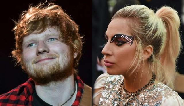 Lady Gaga apoya a Ed Sheeran tras ser acosado en Twitter