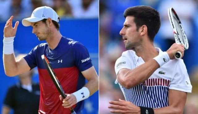 Murray y Djokovic dicen adiós en Wimbledon y dejan camino despejado a Federer