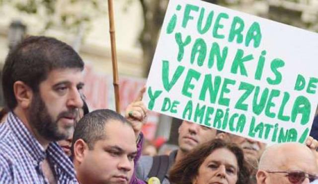 PIT-CNT y FEUU con Maduro y contra el gobierno