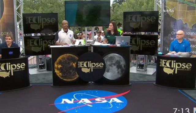 El eclipse en directo