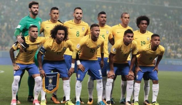 Neymar encabeza la prelista mundialista de la Selección de Brasil