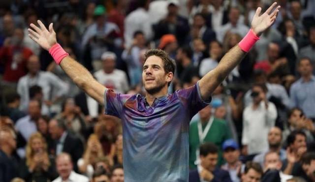 Del Potro derrota a Federer en el US Open