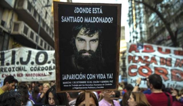 Denuncian ante consejo de DDHH de la ONU desaparición de Santiago Maldonado