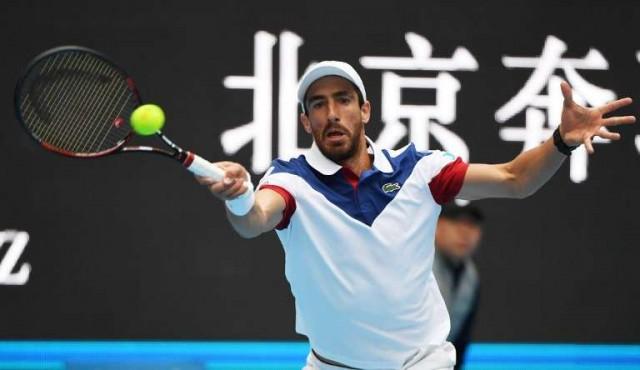 Cuevas no pudo con Del Potro en la primera ronda del Abierto de China