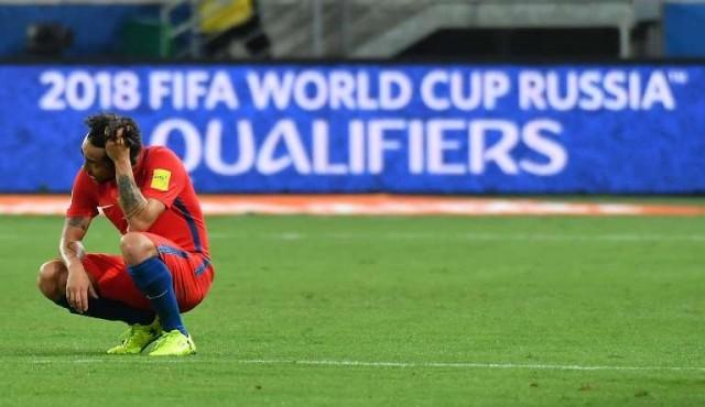 """La """"generación dorada"""" de Chile se quedó sin Mundial"""