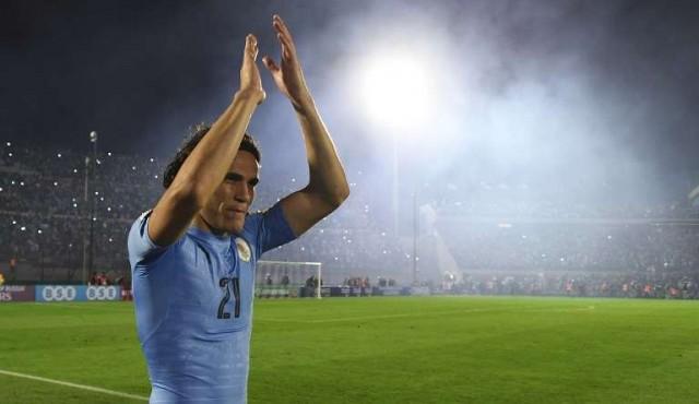 Cavani fue el goleador de las Eliminatorias