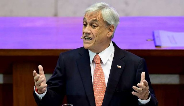 Piñera prometió convertir a Chile en un país desarrollado para 2025