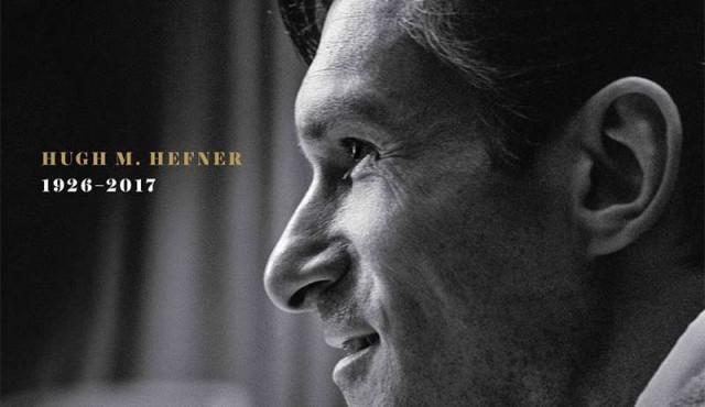 Playboy homenajeó a Hefner en su portada, que por primera vez la ocupa un hombre