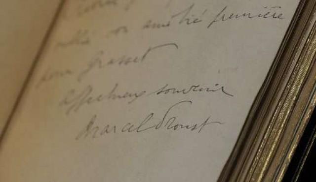 Las cartas de Marcel Proust serán digitalizadas y puestas en línea