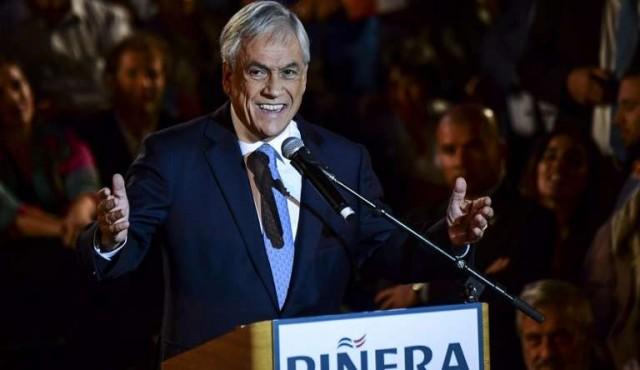 Piñera sigue al frente en Chile pero sin evitar segunda vuelta