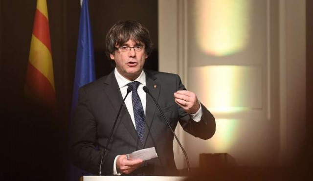 Puigdemont dice que es posible una solución que no sea la independencia