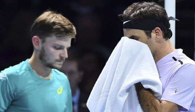 Goffin sacó a Federer de la final del Masters de Londres