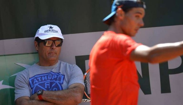 "Toni Nadal se ""despide"" de su sobrino Rafa Nadal"