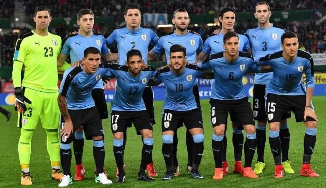 Uruguay cayó cuatro puestos en el ránking FIFA