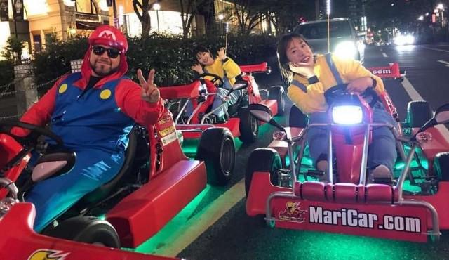 Japón autoriza jugar al Mario Kart en la vida real pero con cinturón de seguridad
