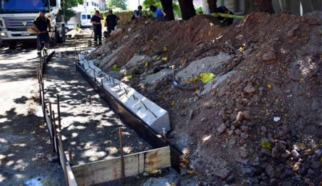 Primer jardín de lluvia de Montevideo se construye en Municipio C
