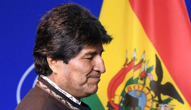 Evo rechaza militarización de la frontera argentina con Bolivia