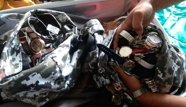 Policía halló el resto del botín del asalto a la joyería de Punta del Este