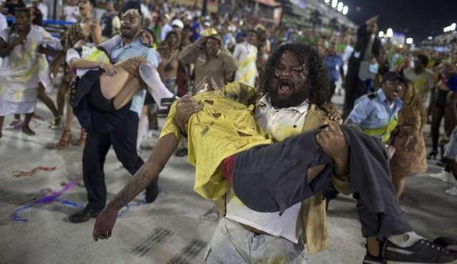 Beija-flor gana el desfile de Rio con su propuesta contra la corrupción